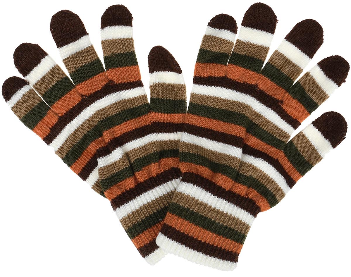 Перчатки223155Яркие женские перчатки Ignite, изготовленные из акрила с добавлением эластана, станут идеальным вариантом для прохладной погоды. Они хорошо сохраняют тепло, мягкие, идеально сидят на руке и хорошо тянутся. Модель оформлена принтом в полоску. Манжеты связаны двойной эластичной резинкой, мягко обхватывают запястья. Перчатки являются неотъемлемой принадлежностью одежды, они станут завершающим и подчеркивающим элементом вашего неповторимого стиля и индивидуальности.
