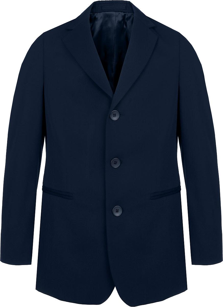 Пиджак12.017933Стильный пиджак для мальчика BTC станет отличным дополнением к школьному гардеробу в прохладные дни. Изготовленный из высококачественного материала, он необычайно мягкий и приятный на ощупь, не сковывает движения и позволяет коже дышать, не раздражает нежную кожу ребенка, обеспечивая ему наибольший комфорт. Модель дополнена подкладкой из вискозы с добавлением полиэстера. Пиджак с воротничком с лацканами застегивается на пластиковые пуговицы и дополнен скрытыми плечиками. Спереди пиджак дополнен двумя прорезными карманами. Внутри расположен небольшой втачной карман. Спинка дополнена двумя шлицами. В таком пиджачке ваш маленький мужчина будет чувствовать себя комфортно, уютно и всегда будет в центре внимания!