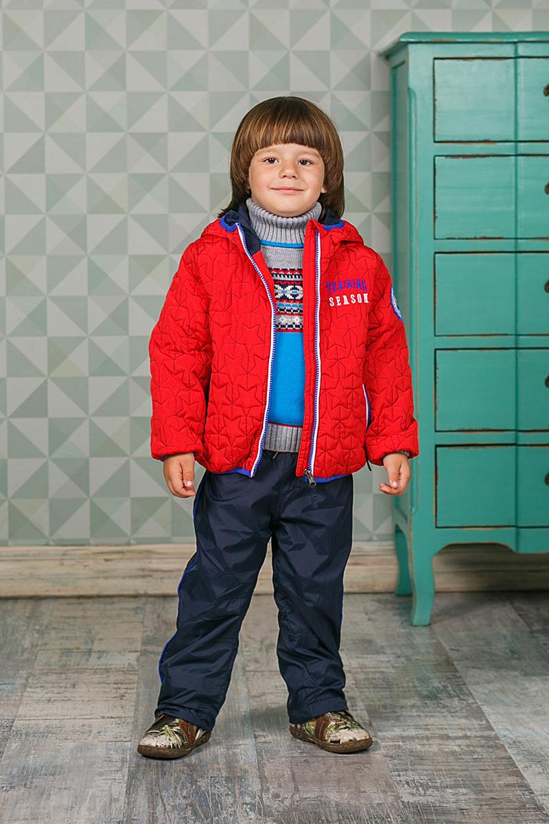Брюки утепленные206152Брюки для мальчика Sweet Berry изготовлены из высококачественного материала. Модель дополнена подкладкой из флиса и эластичным поясом с кулиской. Низ брючин оформлен эластичным шнуром со стопером.