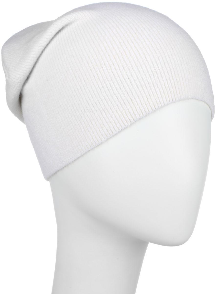 ШапкаA16-32122_205Стильная женская шапка Finn Flare дополнит ваш наряд и не позволит вам замерзнуть в холодное время года. Шапка выполнена из высококачественной пряжи, что позволяет ей великолепно сохранять тепло и обеспечивает высокую эластичность и удобство посадки. Модель с удлиненной макушкой дополнена металлической эмблемой с логотипом производителя. Такая шапка станет модным и стильным дополнением вашего гардероба. Она согреет вас и позволит подчеркнуть свою индивидуальность! Уважаемые клиенты! Размер, доступный для заказа, является обхватом головы.