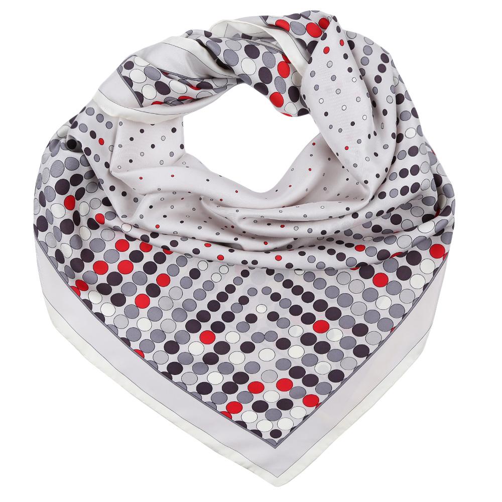 ПлатокCX1617-09-1Стильный платок станет прекрасным дополнением к вашему образу. Выполнен из высококачественного материала и оформлен оригинальным принтом.
