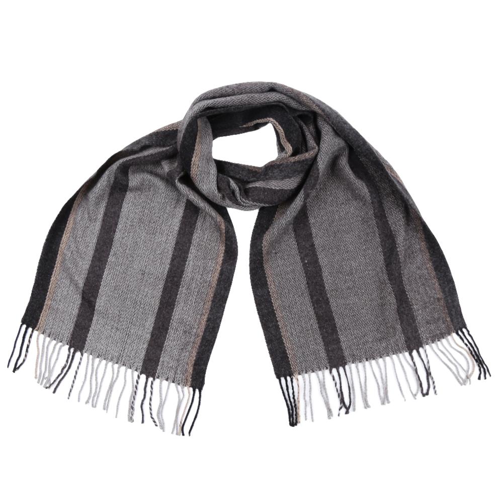 ШарфGY3297Стильный шарф Fabretti поможет внести живость в любой образ, подарит уют и согреет от холодного ветра. Теплый шарф дополнен длинной бахромой.