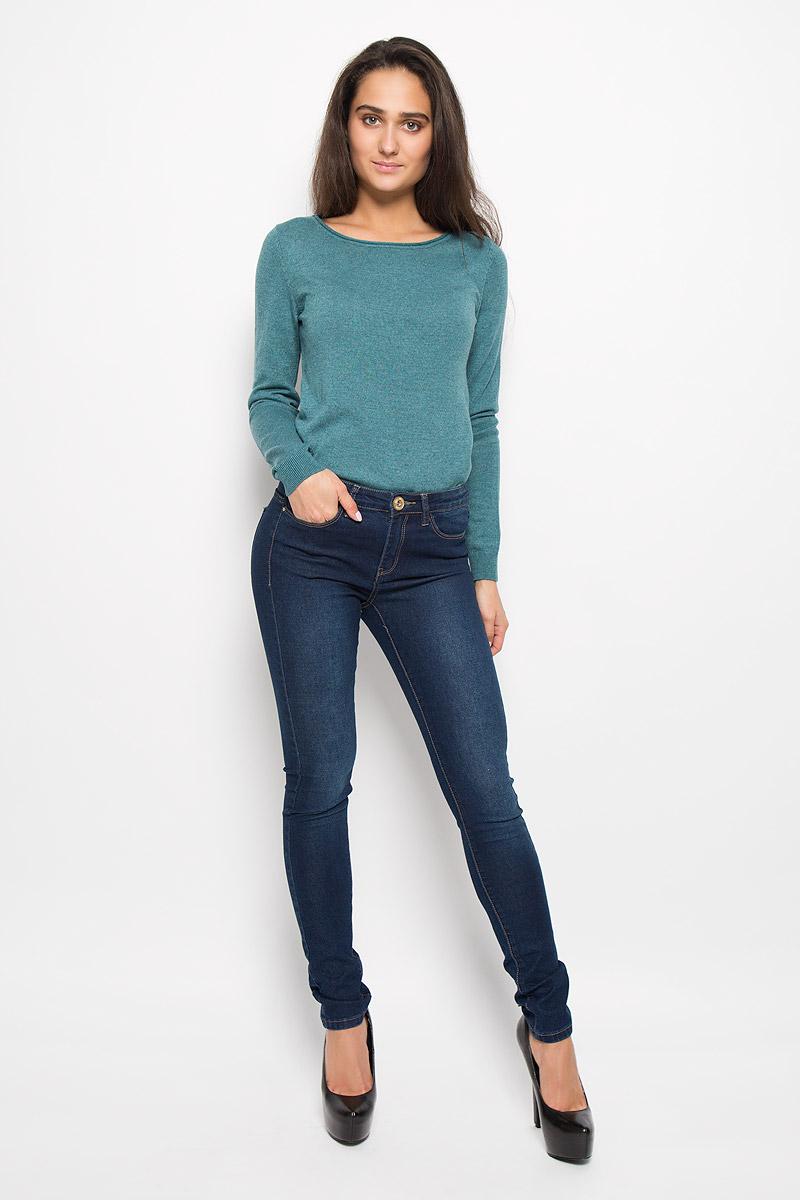 ДжинсыPJ-135/577-6352Стильные женские джинсы Sela Denim подчеркнут ваш уникальный стиль и помогут создать оригинальный женственный образ. Модель выполнена из высококачественного эластичного хлопка с добавлением полиэстера. Материал мягкий и приятный на ощупь, не сковывает движения и позволяет коже дышать. Джинсы-скинни со стандартной посадкой застегиваются на пуговицу в поясе и ширинку на застежке-молнии. На поясе предусмотрены шлевки для ремня. Джинсы имеют классический пятикарманный крой: спереди модель оформлена двумя втачными карманами и одним маленьким накладным кармашком, а сзади - двумя накладными карманами. Модель оформлена эффектом притертости и контрастной прострочкой. Эти модные и в тоже время комфортные джинсы послужат отличным дополнением к вашему гардеробу.