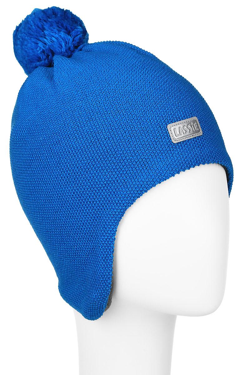 Шапка детская728695-6510Комфортная детская шапка Reima Lassie идеально подойдет для прогулок в холодное время года. Вязаная шапка с ветрозащитными вставками в области ушей, выполненная из шерсти и акрила, максимально сохраняет тепло, она мягкая и идеально прилегает к голове. Шерсть хорошо тянется и устойчива к сминанию. Мягкая подкладка выполнена из флиса, поэтому шапка хорошо сохраняет тепло и обладает отличной гигроскопичностью (не впитывает влагу, но проводит ее). Шапка оформлена ярким помпоном и небольшой нашивкой с названием бренда. Оригинальный дизайн и яркая расцветка делают эту шапку модным и стильным предметом детского гардероба. В ней ваш ребенок будет чувствовать себя уютно и комфортно и всегда будет в центре внимания! Уважаемые клиенты! Размер, доступный для заказа, является обхватом головы ребенка.