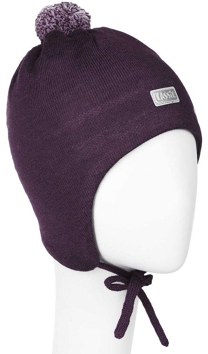 Шапка для девочки Lassie, цвет: бордовый. 718699-4980. Размер XS (44/46)718699-4980Комфортная шапка для девочки Reima Lassie идеально подойдет для прогулок в холодное время года. Вязаная шапка с ветрозащитными вставками в области ушей, выполненная из шерсти и акрила, максимально сохраняет тепло, она мягкая и идеально прилегает к голове. Мягкая подкладка выполнена из флиса, поэтому шапка хорошо сохраняет тепло и обладает отличной гигроскопичностью (не впитывает влагу, но проводит ее).Шапка завязывается на завязки под подбородком и оформлена цветочным принтом, ярким помпоном и светоотражающей нашивкой с названием бренда.В ней ваша дочурка будет чувствовать себя уютно и комфортно. Уважаемые клиенты!Размер, доступный для заказа, является обхватом головы.