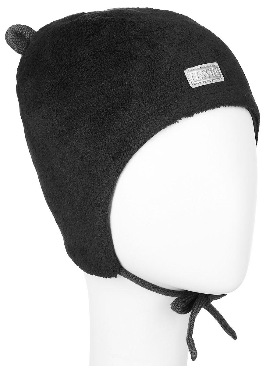 Шапка детская718696-0110Комфортная детская шапка Reima Lassie идеально подойдет для прогулок в холодное время года. Вязаная шапка с ветрозащитными вставками в области ушей, выполненная из полиэстера, максимально сохраняет тепло, она мягкая и идеально прилегает к голове. Мягкая подкладка выполнена из хлопка с добавлением эластана, поэтому шапка хорошо сохраняет тепло и обладает отличной гигроскопичностью (не впитывает влагу, но проводит ее). Шапка завязывается на завязки под подбородком и оформлена декоративными ушками и небольшой светоотражающей нашивкой с названием бренда. В ней ваш ребенок будет чувствовать себя уютно и комфортно. Уважаемые клиенты! Размер, доступный для заказа, является обхватом головы.