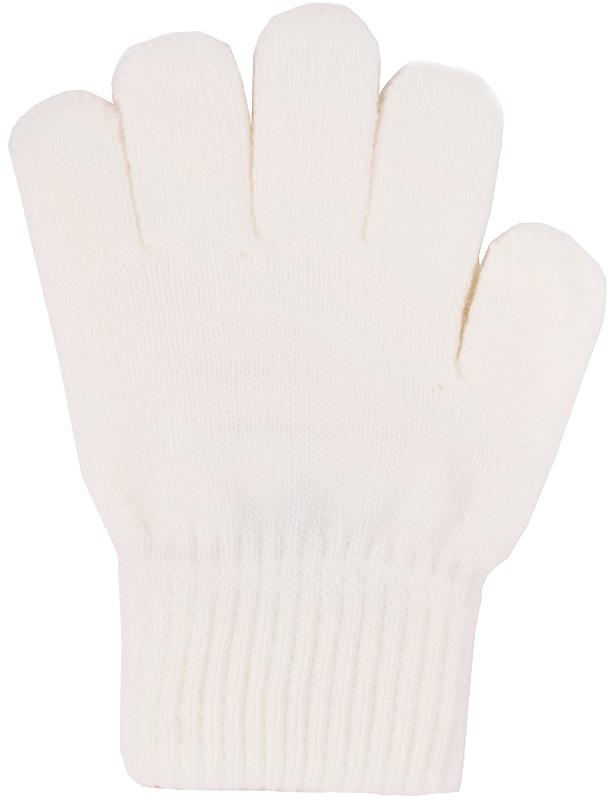 Перчатки детские Button Blue, цвет: молочный. 216BBUX76011400. Размер 18, 12-13 лет216BBUX76011400Детские вязаные перчатки Button Blue, изготовленные из пряжи сложного состава акрила с добавлением полиэстера и хлопка, станут идеальным вариантом для прохладной погоды. Они хорошо сохраняют тепло, мягкие, идеально сидят на руке и хорошо тянутся.Манжеты перчаток связаны плотной резинкой, благодаря чему перчатки надежно фиксируются на ручках малыша. Однотонная расцветка делает эти перчатки стильным и практичным предметом детского гардероба. В них ваш ребенок будет чувствовать себя уютно и комфортно!
