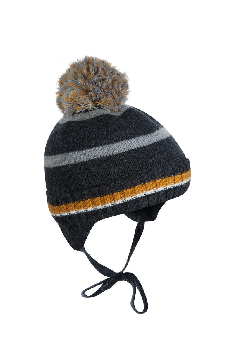 Шапка детская1Ш1616Шапка-бэби с завязками Классик из зимней коллекции OLDOS прекрасно защитит головку вашего малыша от снегопада, мороза и ветра. Такая шапка хорошо закрывает ушки, завязки фиксируют шапку так, чтобы ничего не мешало игре или прогулке. Шапка мягкая и теплая благодаря утеплителю холлофайбер плотностью 70 г и составу пряжи 70% шерсть и 30% акрил. Подкладка из вискозы отводит излишнюю влагу и сохраняет ощущение комфорта во время прогулок. Шапка дополнена декоративным отворотом и съемным нитяным помпоном.