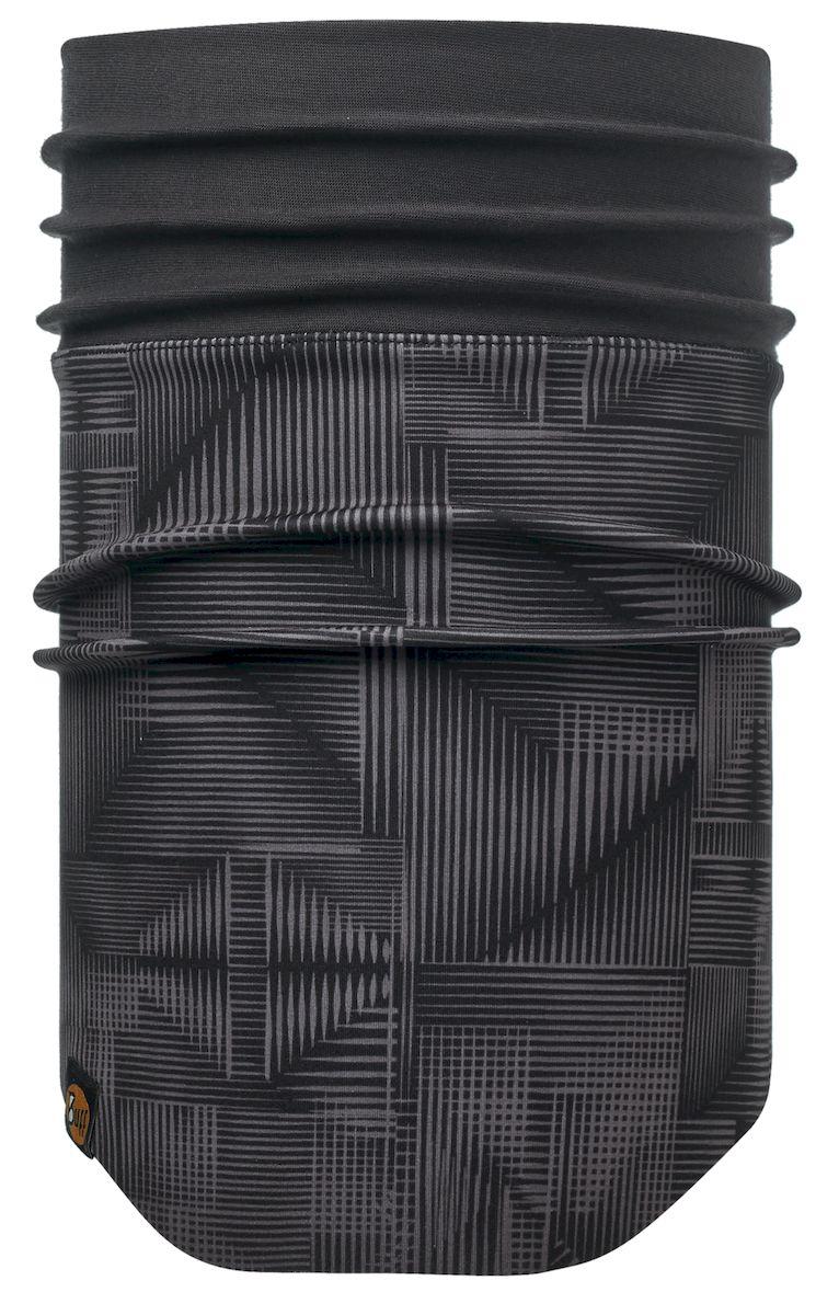 Шарф Buff Windproof Neckwarmer Newarashi Black-Black-Standard, цвет: серый. 113244.999.10.00. Размер 53/62 см113244.999.10.00Шарф с мембраной Windstopper. Высокая степень защиты от ветра и непогоды. Подходит для катания и активного отдыха.