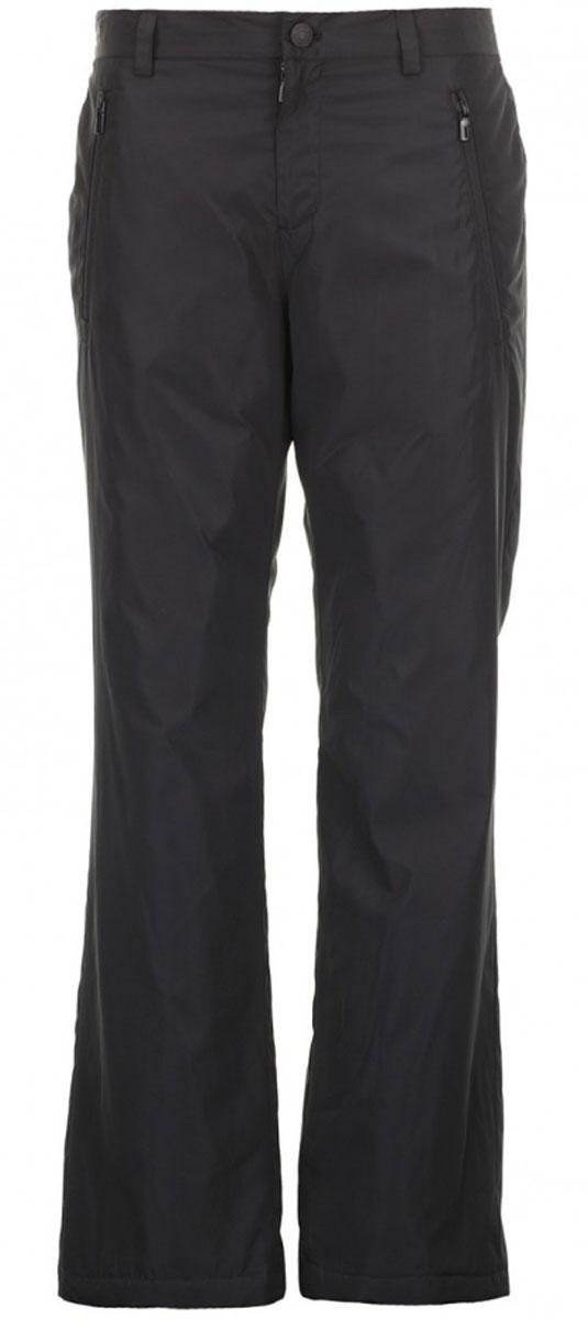 БрюкиB796502_BLACKСтильные утепленные мужские брюки Baon выполнены из 100% полиэстера. Модель прямого кроя и стандартной посадки станет отличным дополнением к вашему современному образу. На поясе модель застегивается на металлическую пуговицу и имеет ширинку на застежке-молнии, также имеются шлевки для ремня. Спереди модель оформлена двумя втачными карманами с застежкой- молнией, а сзади прорезными карманами с клапанами на кнопках.