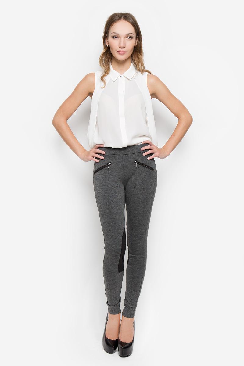 Брюки10156623_833Стильные женские брюки Broadway Cara стандартной посадки выполнены из эластичного высококачественного материала, что обеспечивает комфорт и удобство при носке. Изделие дополнено стильными вставками из полиэстера. Брюки имеют эластичную резинку в поясе, оформлены спереди двумя карманами-обманками на змейках.