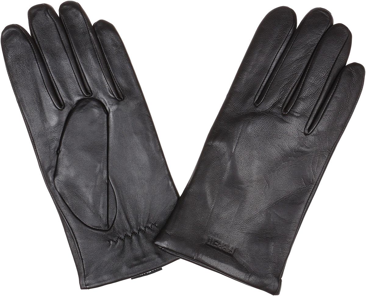 ПерчаткиS1.35-1 blackМужские перчатки Fabretti Touch Screen не только защитят ваши руки от холода, но и станут незаменимым аксессуаром. Модель изготовлена из натуральной кожи на подкладке из шерсти с добавлением кашемира. Современные технологии обработки кожи позволяют работать с любыми сенсорными дисплеями, не снимая перчатки. Модель выполнена в лаконичном стиле и дополнена надписью бренда. Перчатки Fabretti станут завершающим и подчеркивающим элементом вашего стиля.