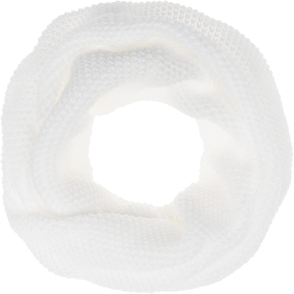 Снуд-хомутB337_LIGHT GREYЖенский вязаный снуд-хомут Baon выполнен из шерсти и акрила. Модель связана кольцом, сужается сзади и красиво драпируется спереди, имитируя шейный платок.