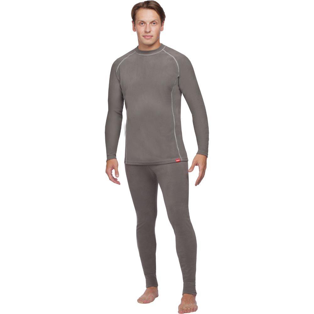 Термобелье кофта54323-911Мужская кофта выполнена из высококачественного материала. Поларис - специальная серия для использования в холодную и прохладную погоду при среднем уровне активности. Рекомендуется также использовать в качестве второго, утепляющего слоя одежды. Круглый ворот рубашки позволяет носить ее под любой одеждой. Плоские швы обеспечивают максимальный комфорт. Отличные теплоизолирующие и влагоотводящие свойства термобелья делают его незаменимым в холодную погоду. Быстро отводит влагу с поверхности тела и передает ее в следующий слой одежды.