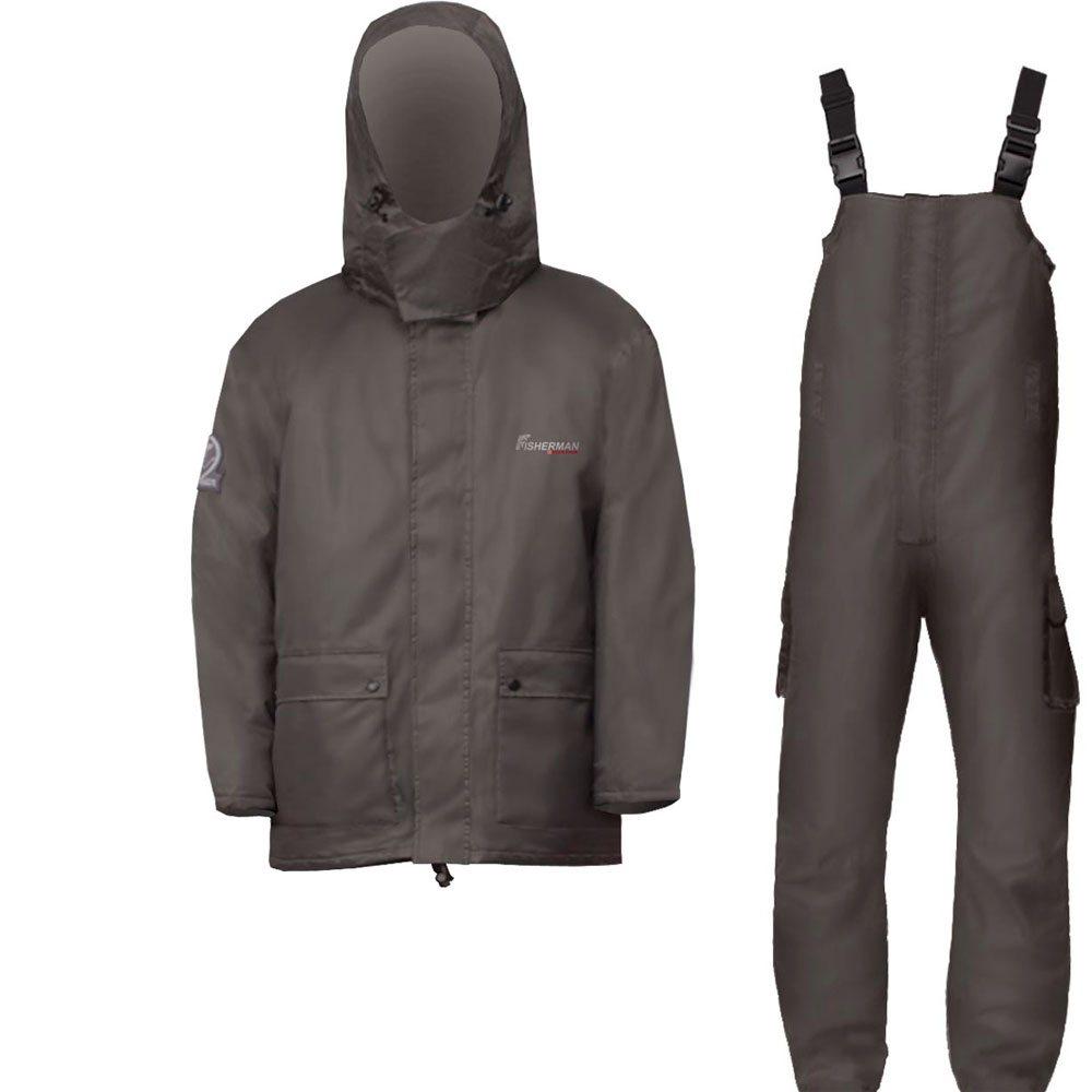 Костюм рыболовный46263-506Мужской костюм для рыбалки NOVA TOUR Скат состоит из куртки и полукомбинезона. Облегченный костюм для рыбалки. Куртка с капюшоном. Нижние объемные карманы. Утеплитель Thermofibre. Полукомбинезон на лямках, с анатомическим кроем колена. Регулируемая ширина брюк. Вы можете затянуть по ширине ноги или наоборот, накрыть сверху ботинки.