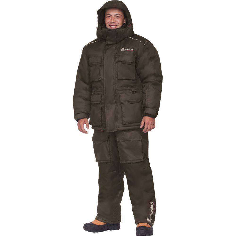 Костюм рыболовный46233-901Новая версия Бурана, самый теплый зимний костюм для рыбалки в ассортименте! Костюм состоит из куртки, жилета-подстежки и полукомбинезона. Отличительной особенностью костюма является наличие отстегивающегося жилета, который может использоваться как самостоятельный элемент одежды. Съемный жилет и двухзамковая молния костюма позволяют использовать его и в более теплую погоду. Также в костюме Буран Норд используется новый утеплитель - Termo MAX, который дольше сохраняет форму изделия, а также поможет Вам сохранить тепло даже в самые суровые морозы. Анатомический крой на рукавах и в коленях обеспечивает свободу движений. Удобство и функциональность костюма Буран Норд заключаются в деталях: - Регулировка рукавов и низа брюк по ширине препятствует попаданию воды, снега, а также задуванию холодного воздуха. - Внутренние флисовые манжеты прекрасно сохраняют тепло. - Теплый съемный капюшон, регулирующийся по объему. - Восемь внешних карманов на куртке –...
