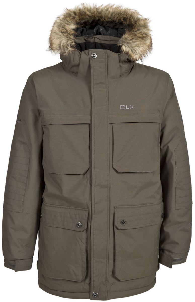 КурткаMAJKRAL10001Великолепная удлиненная теплая куртка-парка Trespass Only для русской зимы в стиле casual. Верхний материал мембранный 10000мм/5000 г/24ч .Утеплитель ColdHeat 320 г/м2 (синтетический, микроволоконный с функцией быстрого отвода влаги и высоким уровнем теплозащиты и износостойкости). Каждый простроченный шов от иглы оставляет сотни отверстий, через которые влага может проникать внутрь куртки. Применение технологии Taped Seams - обработка швов термо-пластичесткой лентой под высоким давлением - запечатывает швы, тем самым препятствуя проникновению влаги внутрь куртки, дополнительно обеспечивая вашему телу сухость и комфорт. Утепленный регулируемый капюшон с отстегивающимся искусственным мехом. Прекрасно подойдет как для города, так и для отдыха на природе.