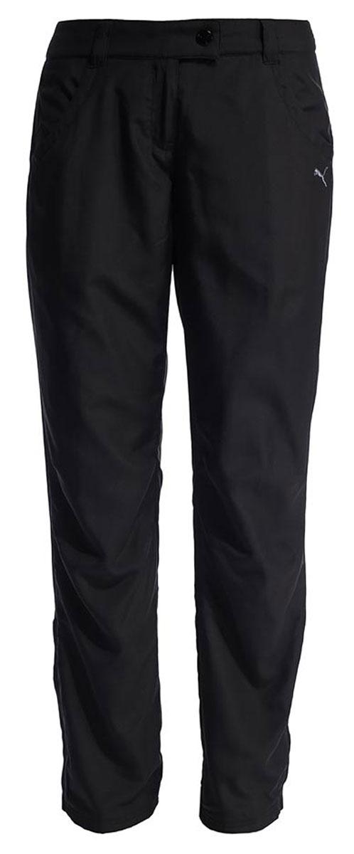 Брюки женские утепленные Puma Winter Fleece Pants W, цвет: черный. 59137901. Размер XS (42)591379_01Женские утепленные брюки с флисовой подкладкой внутри. Благодаря боковым карманам, вы сможете положить необходимые вещи. Низ брючин регулируется фиксаторами.