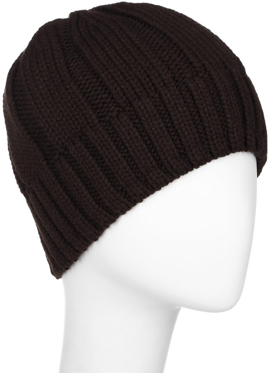 ШапкаW16-21117_101Мужская шапка Finn Flare, изготовленная из шерсти и акрила, отлично подойдет для холодной погоды. Изделие дополнено теплой флисовой подкладкой. Она превосходно сохраняет тепло, мягкая и идеально прилегает к голове. Модель оформлена небольшой металлической пластиной с фирменным логотипом.