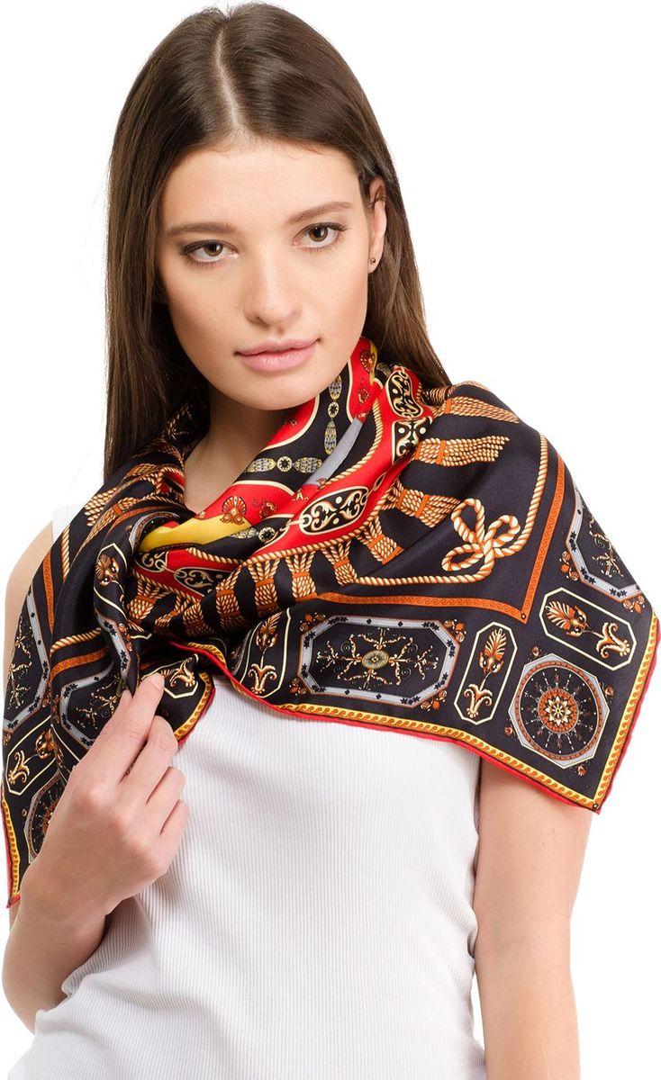 Платок женский Laccom, цвет: черный. 1101. Размер 90 см х 90 см1101BПлаток от Laccom, выполненный из высококачественного материала, приятный на ощупь и подойдет к любому стилю.