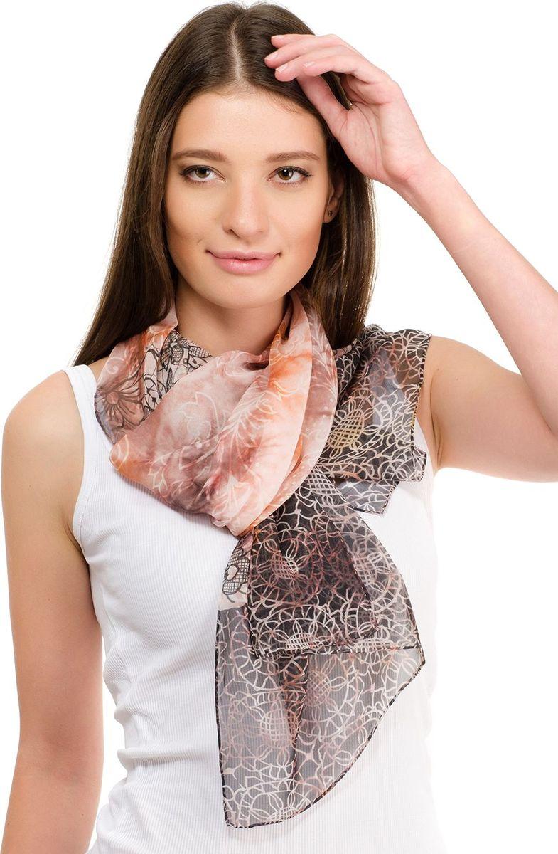 Шарф женский Laccom, цвет: коричневый. 3121. Размер 180 см х 55 см3121OШарф от Laccom, выполненный из высококачественного материала, приятный на ощупь и подойдет к любому стилю.