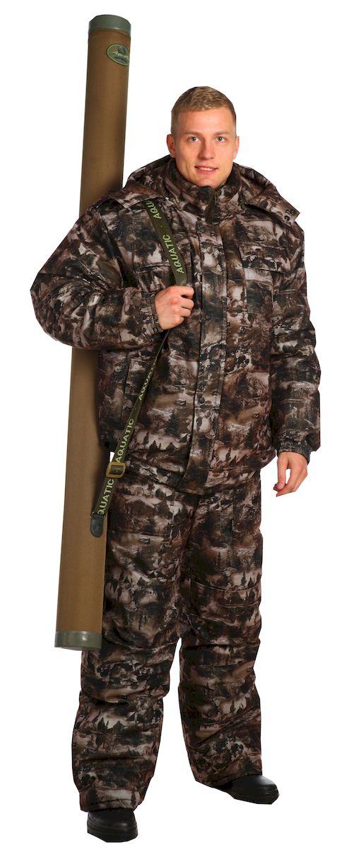 Костюм рыболовный6186Утепленный костюм с укороченной курткой на поясе с резинкой и полукомбинезоном. - воротник-стойка с пристегивающимся на молнию капюшоном, нижний воротник из флиса - на куртке имеются накладные и утепленные прорезные карманы; - рукава на манжетах с резинкой; - низ куртки на поясе с резинкой; - утепленный полукомбинезон с объемными карманами, с двухзамковой молнией, с усиленными наколенниками; - по низу подкладки расположены защитные юбочки с резиновой тесьмой со спандексом; - низ брюк со шлицами, закрытыми клапаном на липучках; - на поясе полукомбинезона удобные широкие шлевки под ремень; - боковые швы полукомбинезона с трикотажными вставками на резинках; - количество карманов - 7. ткань верха: алова водонепроницаемость: 3000 мм паропроницаемость: 1000 г/м2/24 часа утеплитель куртка: синтепон 400 гр/м2 утеплитель п/к: 200 гр/м2 подкладка: таффета, Cosmo-Heat Утепленный костюм выдерживает...
