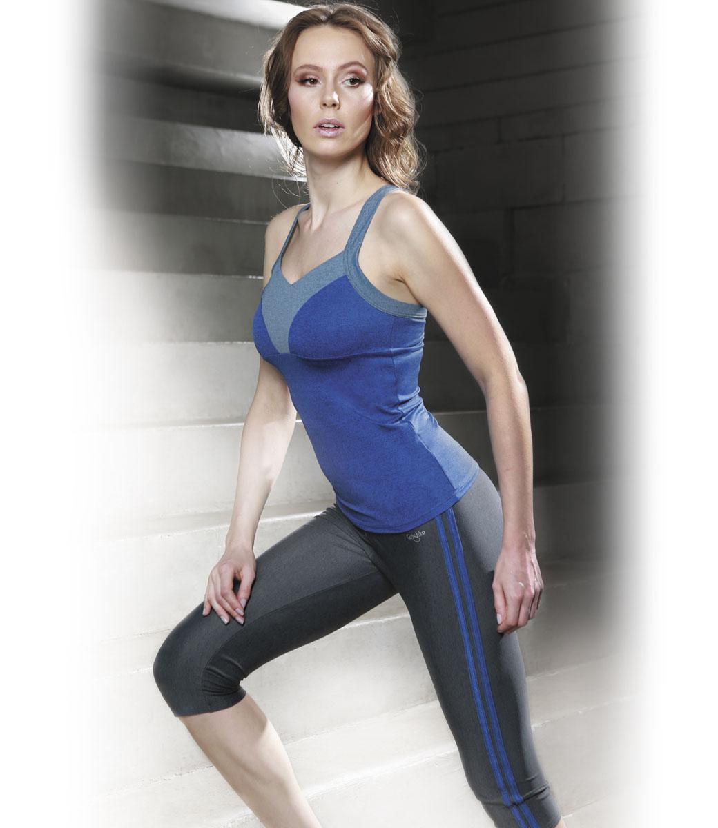 МайкаAL-2902Спортивная майка с поддержкой груди из линии Grishko Fitness, проникнутой философией единого космоса. На спине логотип бренда вписан в мегаактуальный принт с проекцией звездного неба, украшенный сияющим глиттером. Модель выполнена из шелковистого, приятного на ощупь меланжированного полиамида с лайкрой в оптимальном для спортивных нагрузок сочетании. Топ не сковывает движений и подчеркивает спортивное телосложение за счет визуально корректирующих фигуру линий. Материал отлично пропускает воздух, впитывает влагу и сохраняет форму. Линия эргономичной одежды создана для всех видов активных физических нагрузок и выполнена в ультрамодных цветовых сочетаниях. Майка отлично сочетается со всеми моделями из линии Grishko Fitness.