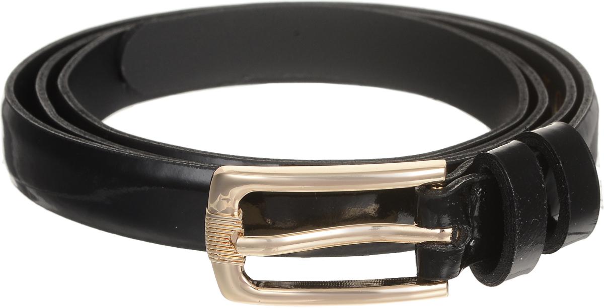 Ремень4413-19/15zЭлегантный тонкий ремень Vittorio Richi выполнен из высококачественной лакированной экокожи. Пряжка, выполненная из металла, позволит легко и быстро зафиксировать ремень и отрегулировать его длину. Уважаемые клиенты! Обращаем ваше внимание на тот факт, что размер ремня, доступный для заказа, является его длиной.