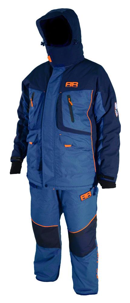 Костюм рыболовныйRover -35Температурный режим костюма -35 градусов, комфорт при этом обеспечивается за счет инновационного слоя утепления. На куртке имеются два врезных боковых кармана, для размещения полезных вещей и согревания рук. Куртка: Проклеенные швы Специальная конструкция подкладки с зонами, улучшающими отвод влаги Капюшон крепится с помощью замка - молнии Ветрозащитная юбка Удобные карманы внутри и снаружи Теплый карман для мобильного телефона Эластичные неопреновые манжеты Боковые шлицы на молнии Подкладка из флиса Светоотражающие нашивки безопасности Полукомбинезон: Регулируемые лямки Подкладка из флиса Усиление материала в области колен и седалища Внутренние снегозащитные гетры Материал: Водонепроницаемость 7000мм Дышащая способность материала: 10000г/м3/24 час Утеплитель: 200г/м2