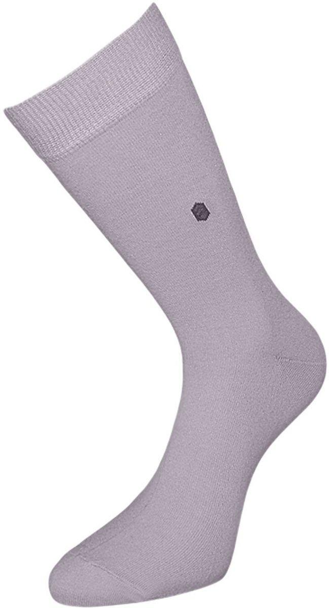 Носки мужские Гранд, цвет: светло-серый, 2 пары. ZCL110. Размер 25/27ZCL110Мужские носки Гранд выполнены из хлопка и оформлены мелким рисунком на паголенке, для повседневной носки. Носки с бесшовной технологией зашивки мыска (кеттельный шов) хорошо держат форму и обладают повышенной воздухопроницаемостью, после стирки не меняют цвет, имеют безупречный внешний вид, усиленные пятку и мысок для повышенной износостойкости, благодаря свойствам эластана, не теряют первоначальный вид. Носки произведены по европейским стандартам на современных вязальных автоматах.