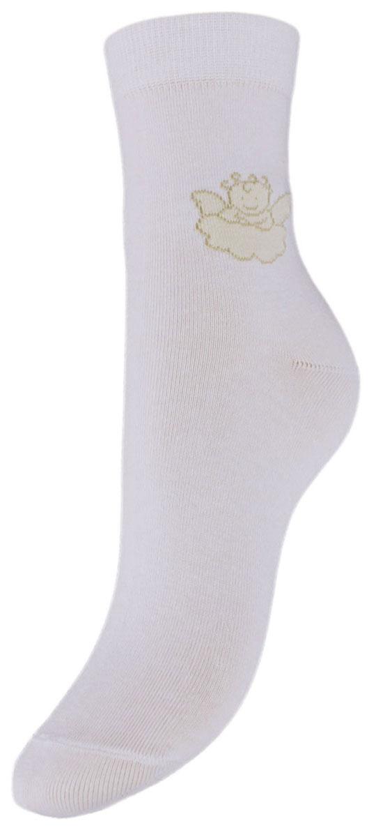 Носки детские Гранд, цвет: белый, 2 пары. TCL3. Размер 22/24TCL3Подростковые носки выполнены из высококачественного хлопка, предназначены для повседневной носки. Носки с текстурным рисунком на паголенке ангелочек на облачке хорошо держат форму и обладают повышенной воздухопроницаемостью, имеют безупречный внешний вид, после стирки не меняют цвет, усилены пятка и мысок для повышенной износостойкости, функция отвода влаги позволяет сохранить ноги сухими, благодаря свойствам эластана, не теряют первоначальный вид.Носки долгое время сохраняют форму и цвет, а так же обладают антибактериальными и терморегулирующими свойствами.