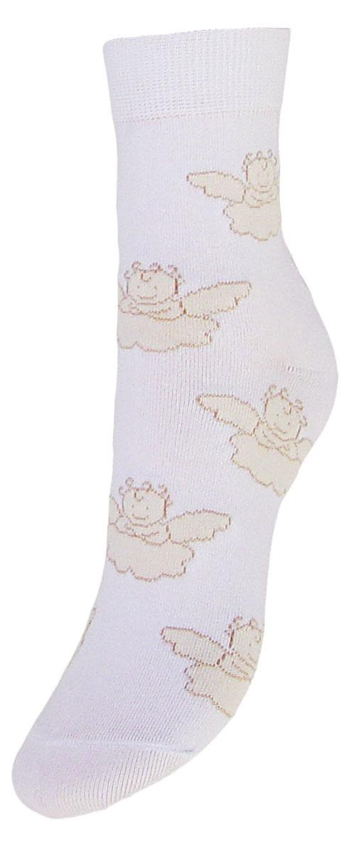 Носки детские Гранд, цвет: белый, 2 пары. TCL5. Размер 22/24TCL5Подростковые носки выполнены из высококачественного хлопка, предназначены для повседневной носки. Носки с текстурным рисунком ангелочки имеют безупречный внешний вид, после стирки не меняют цвет, усилены пятка и мысок для повышенной износостойкости, функция отвода влаги позволяет сохранить ноги сухими, благодаря свойствам эластана, не теряют первоначальный вид. Носки долгое время сохраняют форму и цвет, а так же обладают антибактериальными и терморегулирующими свойствами.