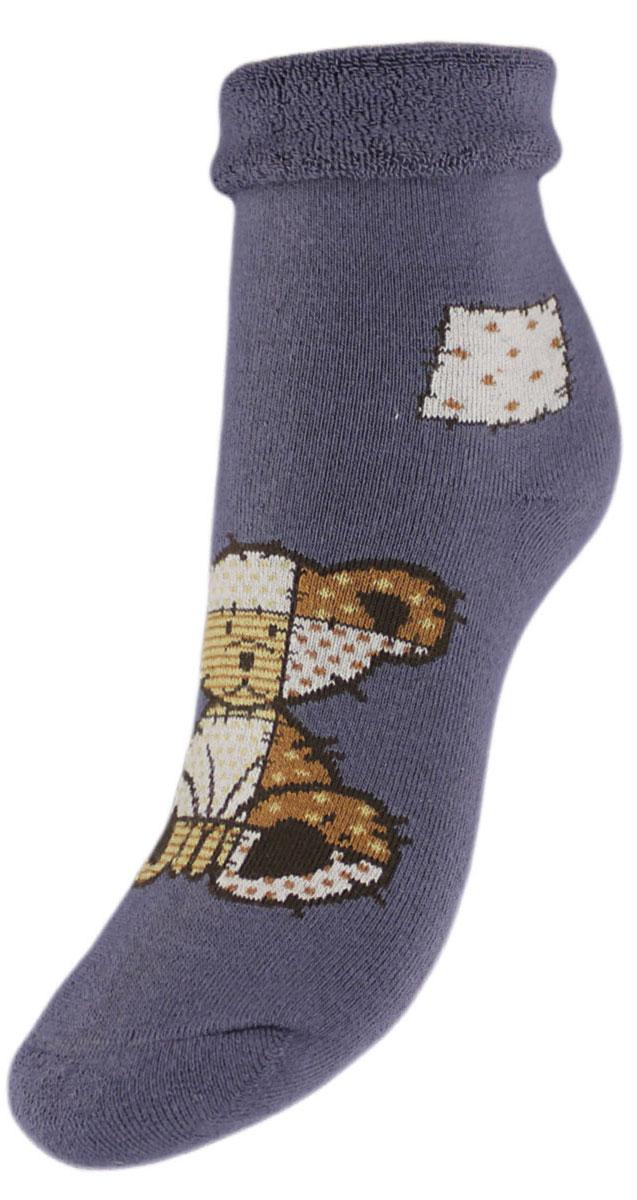 Носки детские Гранд, цвет: серый, 2 пары. YCL41M. Размер 14/16YCL41MДетские зимние носки выполнены из высококачественного хлопка. Махра отлично сохраняет тепло. Носки с текстурным рисунком плюшевый мишка хорошо держат форму и обладают повышенной воздухопроницаемостью, имеют безупречный внешний вид, после стирки не меняют цвет, усилены пятка и мысок. За счет добавленной лайкры в пряжу, повышена эластичность и срок службы изделия.Носки долгое время сохраняют форму и цвет, а так же обладают антибактериальными и терморегулирующими свойствами.