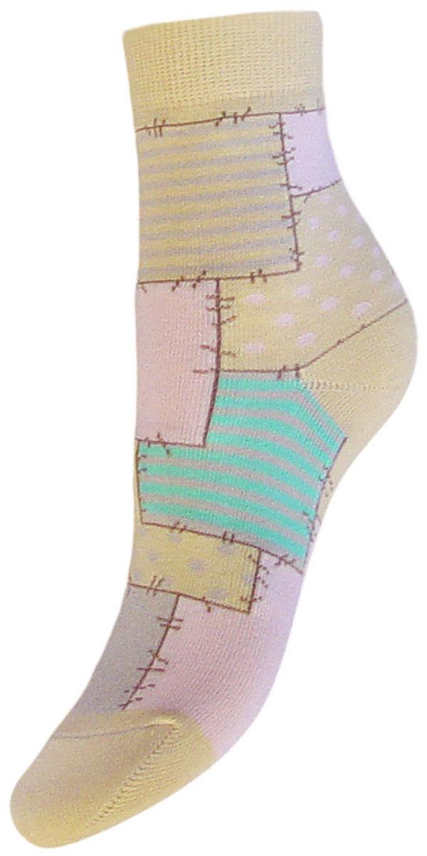 Носки детские Гранд, цвет: желтый, 2 пары. YCL48. Размер 16/18YCL48Детские носки выполнены из высококачественного хлопка. Носки с текстурным рисунком по всему носку заплатки хорошо держат форму и обладают повышенной воздухопроницаемостью, имеют безупречный внешний вид, после стирки не меняют цвет, усилены пятка и мысок. За счет добавления лайкры в пряжу, повышена эластичность и срок службы изделия.Носки произведены по европейским стандартам на современный вязальных автоматах.