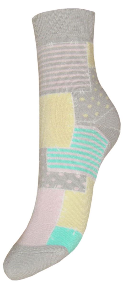 Носки детские Гранд, цвет: серый, 2 пары. YCL48. Размер 16/18YCL48Детские носки выполнены из высококачественного хлопка. Носки с текстурным рисунком по всему носку заплатки хорошо держат форму и обладают повышенной воздухопроницаемостью, имеют безупречный внешний вид, после стирки не меняют цвет, усилены пятка и мысок. За счет добавления лайкры в пряжу, повышена эластичность и срок службы изделия.Носки произведены по европейским стандартам на современный вязальных автоматах.