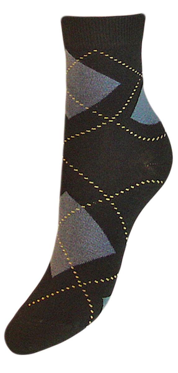 Носки детские Гранд, цвет: черный, 2 пары. YCL50. Размер 16/18YCL50Детские носки выполнены из высококачественного хлопка. Носки оформлены рисунком ромбы по всему носку, имеют классический паголенок и безупречный внешний вид,хорошо держат форму и обладают повышенной воздухопроницаемостью, после стирки не меняют цвет, усилены пятка и мысок. За счет добавления лайкры в пряжу, повышена эластичность и срок службы изделия. Носки долгое время сохраняют форму и цвет, а так же обладают антибактериальными и терморегулирующими свойствами.