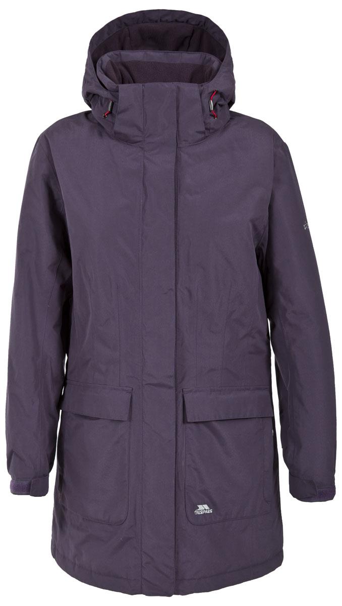 КурткаFAJKRAL20004Великолепная утепленная куртка Trespass Franchesca застегивается на застежку- молнию. Верхний материал непромокаемый 2000мм. Утеплитель ColdHeat 160 г/м2 (синтетический, микроволоконный с функцией быстрого отвода влаги и высоким уровнем теплозащиты и износостойкости). Каждый простроченный шов от иглы оставляет сотни отверстий, через которые влага может проникать внутрь куртки. Применение технологии Taped Seams - обработка швов термо-пластичесткой лентой под высоким давлением - запечатывает швы, тем самым препятствуя проникновению влаги внутрь куртки, дополнительно обеспечивая вашему телу сухость и комфорт. Регулируемый капюшон. Прекрасно подойдет как для города, так и для отдыха на природе.