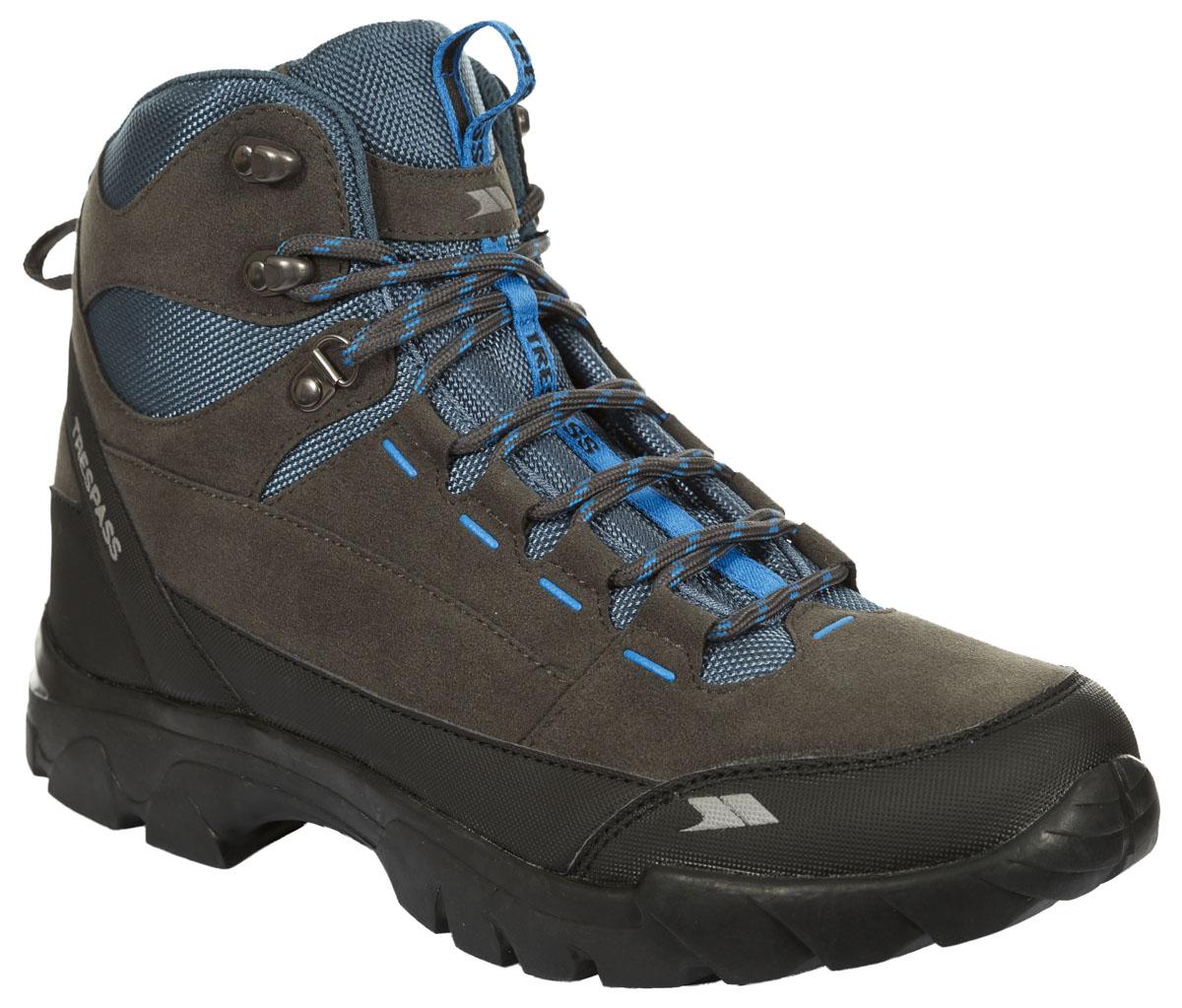 БотинкиMAFOBOL20004Современные, технологичные, трекинговые ботинки Oleg от Trespass выполнены из водонепроницаемого материала. Специальное покрытие эффективно обеспечивает сухость и комфорт вашим ногам. Подкладка и стелька из текстиля комфортны при движении. Шнуровка надежно зафиксирует модель на ноге. Подошва дополнена рифлением. Ботинки прекрасно подойдут для пеших походов по пересеченной местности.