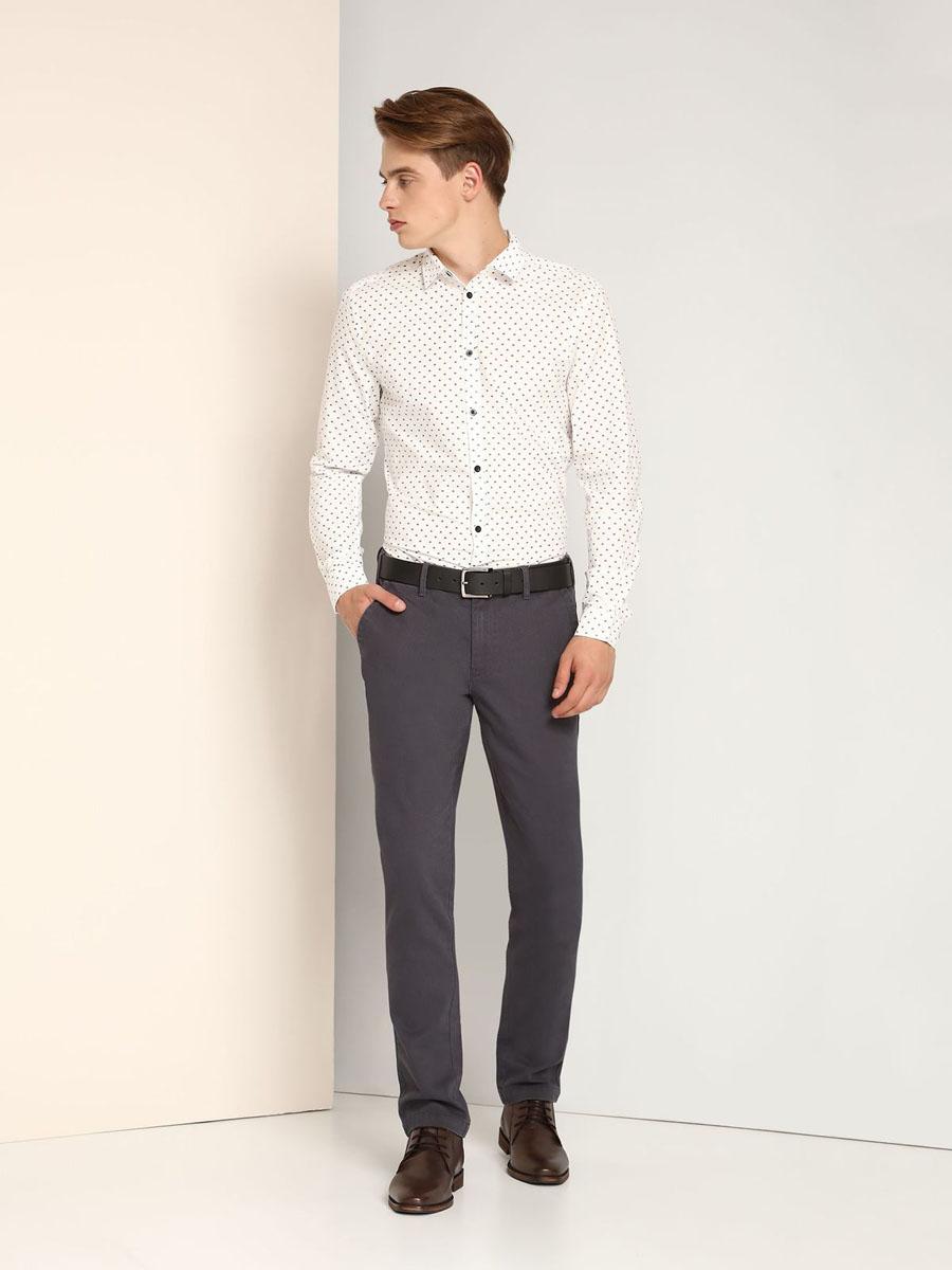 РубашкаSKL2119BIЖенская рубашка Top Secret, выполненная из 100% хлопка, станет отличным дополнением к вашему гардеробу. Рубашка с отложным воротником и длинными рукавами застегивается на пуговицы. Манжеты рукавов также застегиваются на пуговицы. Изделие оформлено контрастным мелким принтом.
