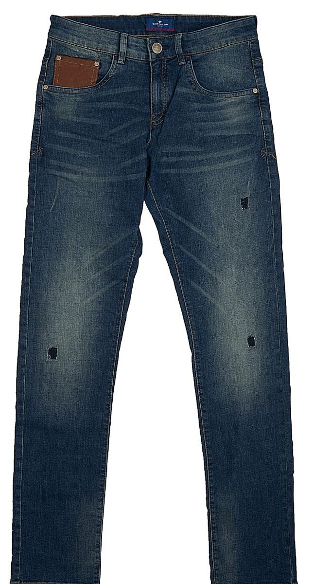 Джинсы6205099.00.30_1195Джинсы с дырками и эффектом потертости ткани содержат эластан для идеальной посадки. Классический пятикарманный стиль, потайная застежка-молния. Средняя линия талии и узкий крой штанин.