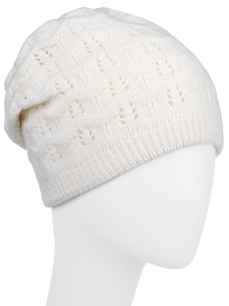 ШапкаW16-11127_211Стильная женская шапка Finn Flare дополнит ваш наряд и не позволит вам замерзнуть в холодное время года. Шапка выполнена из высококачественной пряжи, что позволяет ей великолепно сохранять тепло и обеспечивает высокую эластичность и удобство посадки. Модель оформлена металлической нашивкой с логотипом бренда. Уважаемые клиенты! Размер, доступный для заказа, является обхватом головы.
