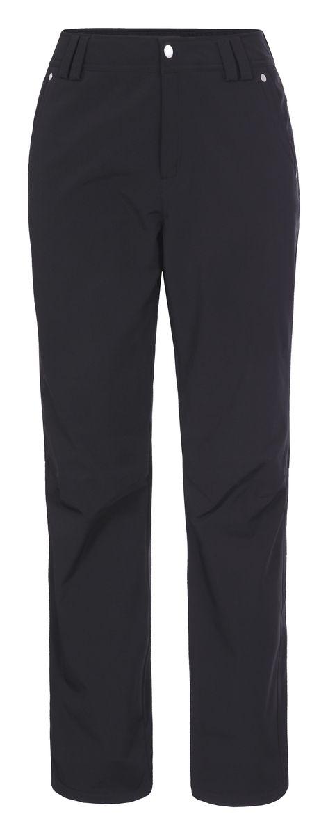 Брюки636703382LVЖенские брюки от Luhta выполнены из эластичного полиэстера, с изнаночной стороны они утеплены флисом. Модель застегивается на пуговицу и крючок в талии и ширинку на молнии, имеются шлевки для ремня. Спереди брюки дополнены двумя врезными карманами, сзади двумя врезными карманами на застежках-молниях. Низ брючин дополнен утяжками со стопперами.