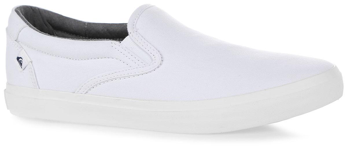 Слипоны мужские Quiksilver Shorebreak Slip, цвет: белый. AQYS300033-XWWW. Размер 8 (41)AQYS300033-XWWWСтильные мужские слипоны Shorebreak Slip от Quiksilver займут достойное место в вашем гардеробе. Модель выполнена из текстиля. Резинки, расположенные по бокам, обеспечат оптимальную посадку модели на ноге. Стелька из материала EVA с текстильной поверхностью комфортна при движении. Прочная резиновая подошва с рифлением гарантирует отличное сцепление с любыми поверхностями.
