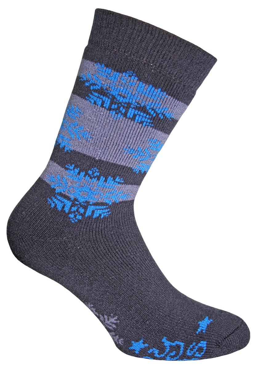 Носки58422Вязаные носки Master Socks Wool-Cotton-Mix изготовлены из акрила, полиамида и эластана, которые обеспечивают отличную посадку. Модель с удлиненным паголенком оформлена оригинальным принтом. Эластичная резинка плотно облегает ногу, не сдавливая ее, обеспечивает удобство.