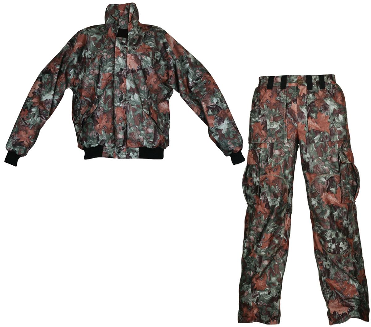 Костюм рыболовный осенний Arctix: куртка, брюки, цвет: камуфляж. 808-00405. Размер XXL (56)808Одежда для рыбалки изготовлена из 100% флиса и мембранной ткани 5 000/10 000 тем самым обладает дышащими, водо и ветронепроницаемыми свойствами. Брюки имеют эластичный пояс и широкие шлевки под ремень. Контактные зоны брюк усилены накладками. Внизу брюки для рыбалки имеют застежки-молнии, что позволяет быстро надеть одежду не снимая обуви, низ комбинезона оснащен регулируемой манжетой. Брюки абсолютно не шелестят и имеют, карманы на магнитных замках. Куртка абсолютно бесшумная и имеет магнитные замки для карманов. Рукава с трикотажными манжетами и поясом.