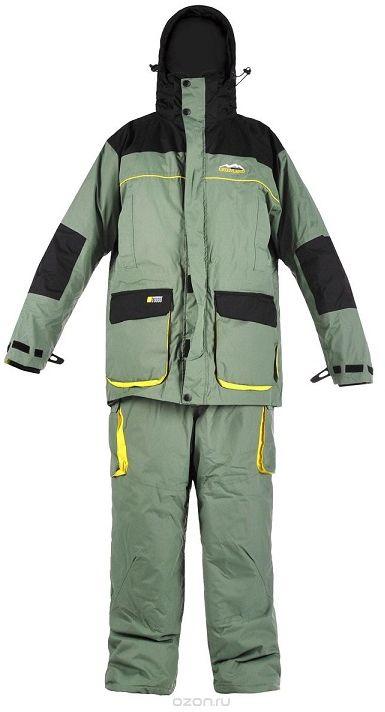 Костюм рыболовный810Костюм зимний Arctix Greenland 3 в 1 предназначен для эксплуатации при температуре до -10°С. Костюм Arctix Greenland разработан для зимней рыбалки и активного отдыха на природе. Особенность этого костюма - отстегивающаяся внутренняя куртка, которую можно носить отдельно в весенне-осенний сезон. Куртка имеет теплый карман для мобильного телефона или фотоаппарата. Проклеенные швы. Двух замковая застежка-молния YKK с клапаном. Капюшон. Высокий воротник с флисовой подкладкой. Фиксатор, стягивающий куртку в области талии. Удобные, теплые карманы для рук. Карманы внутри и снаружи. Неопреновые эластичные удлиненные манжеты. Куртка-подстежка Arctix Greenland, по желанию можно снять верхнюю куртку и остаться только в утепленной куртке-подстежке Arctix Greenland. Она имеет свою отдельную молнию, что очень удобно, например, при вождении автомобиля. Куртка – подстежка регулируется по фигуре. Основная куртка и подстежка могут использоваться как самостоятельные элементы одежды, так и...
