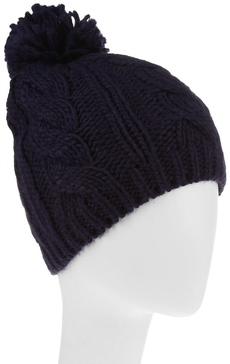 Шапка992175Стильная женская шапка Avanta дополнит ваш наряд и не позволит вам замерзнуть в холодное время года. Шапка выполнена из полиэстера с добавлением шерсти, что позволяет ей великолепно сохранять тепло, и обеспечивает высокую эластичность и удобство посадки. Изделие дополнено флисовой подкладкой и оформлено помпоном и металлической нашивкой с логотипом бренда. Такая шапка составит идеальный комплект с модной верхней одеждой, в ней вам будет уютно и тепло.