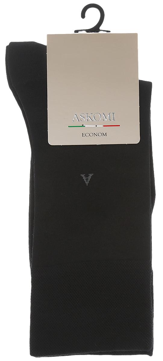 НоскиАМ-3600Мужские носки Askomi изготовлены из высококачественного бамбука с добавлением полиамидных волокон, обладают повышенной прочностью и мягкостью, не садятся и не деформируются. Изделие оснащено двойным бортом для плотной фиксации, который не пережимает сосуды, а также кеттельным швом, не ощутимым для ноги. Мысок и пятка усилены.