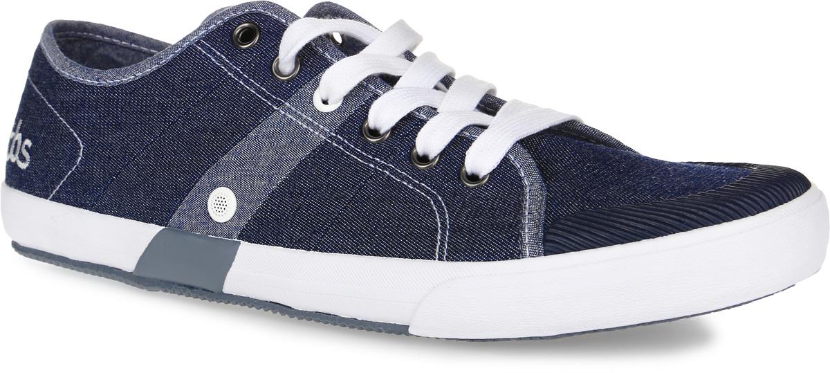КедыHENLEY-2802Стильные мужские кеды Henley от TBS на широкую ногу - модель для ценителей современной качественной обуви. Модель выполнена из плотного высококачественного текстиля, мысок дополнен рифленой резиной. Внутренняя поверхность и стелька обеспечат комфорт и уют вашим ногам, а два отверстия сбоку отлично циркулируют воздух. Подошва из прочного каучука гарантирует длительную носку и сцепление с любой поверхностью. Классическая шнуровка надежно фиксирует обувь на ноге.