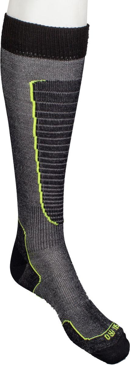 Носки горнолыжные Mico, цвет: черный, желтый. 230_604. Размер XL (44/46)230_604Итальянская компания Mico один из ведущих производителей носков и термобелья на Европейском рынке для спортом. Носки предназначены для для занятий различными видами в том числе для носки в городе в очень холодную погоду. Носок очень мягкий. Идеально подходит для горнолыжных ботинок с термо-формовкой. Дополнительная защита голени. Мягкая резинка по верху носка не сжимает ногу и не дает ощущения сдавливания даже при длительном использовании. Специальное плетение в области стопы фиксирует ногу при занятиях спортом и ходьбе и не дает скользить стопе вперед.